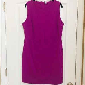 Purple old navy shift dress